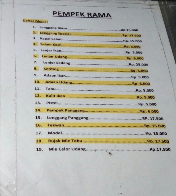Kali ini kami akan kembali menbahas mengenai wisata masakan yang masih berada di sekitara Pempek Rama Bandung