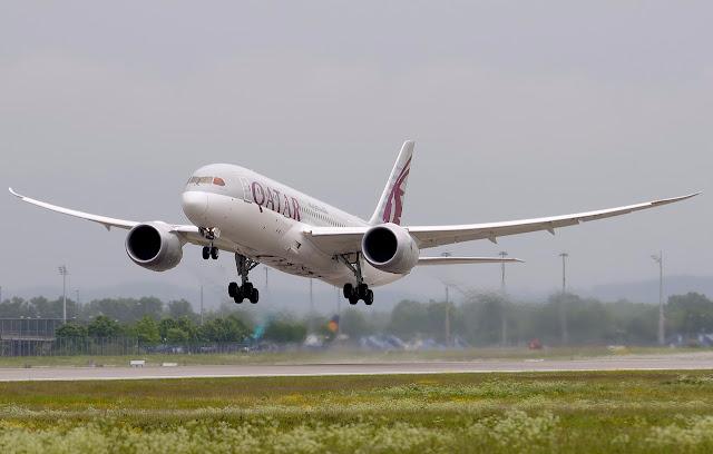 Boeing 787-8 Dreamliner of Qatar Airways