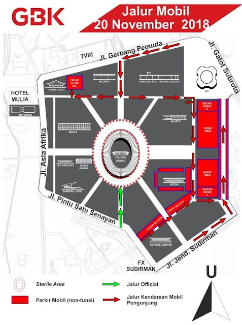 Cara Beli Tiket Online AFF Suzuki Cup 2018 di Gelora Bung Karno