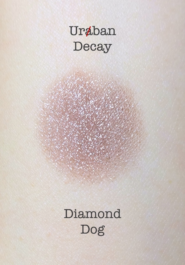 Urban Decay Diamond Dog swatch