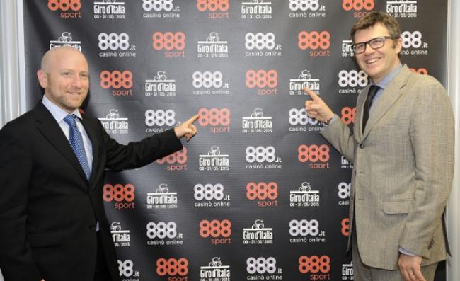 La casa de apuestas 888 patrocinará el Giro