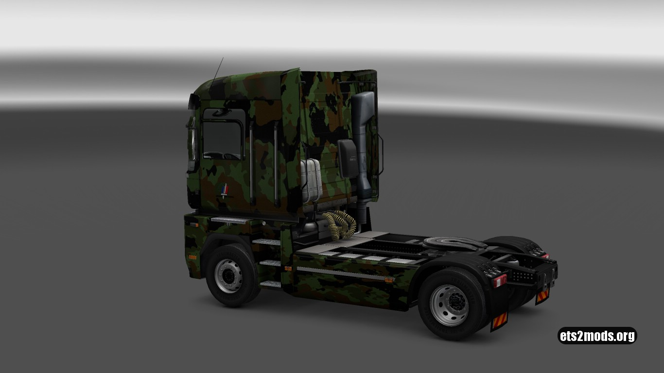 Camo French Army Skin for Renault Magnum