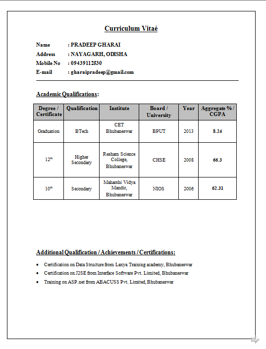 Lecturer Resume Format For Computer Science resume samples for lecturer in computer science new lecturer resume Resume Format For Lecturer Resume Cv Cover Letter Resume Format And Resume Maker Fresher Resume Examples