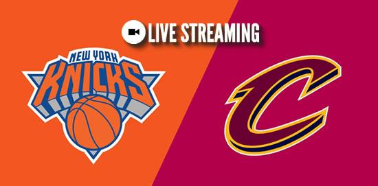 Live Streaming List: New York Knicks vs Cleveland Cavaliers 2018-2019 NBA Season