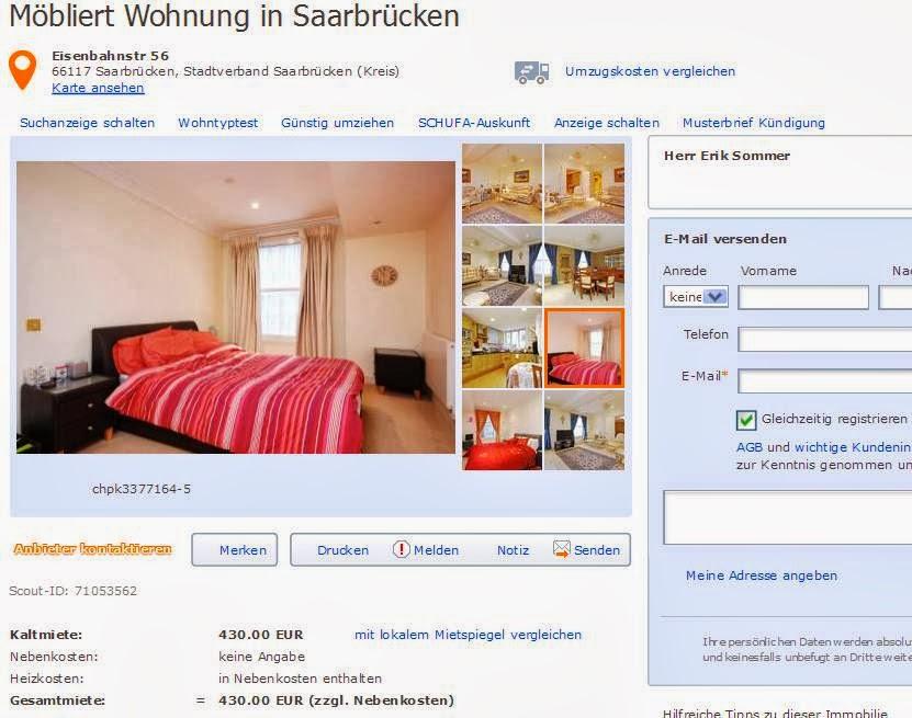 Wohnungsbetrug Blogspot Com David Bray5 Hotmail Com