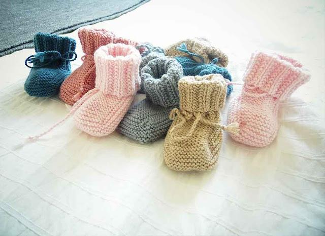 les mamies tricoteuses tricots bébés