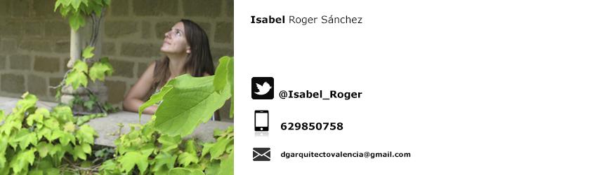 ISABEL ROGER SÁNCHEZ 08990