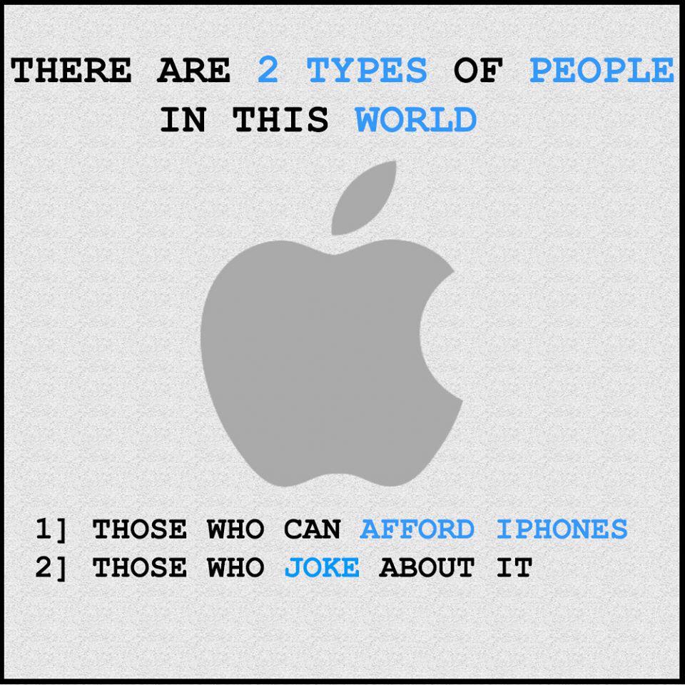 imagineanddo: Iphone: Existen dos tipos de personas