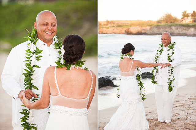 maui elopement on ironwood beach
