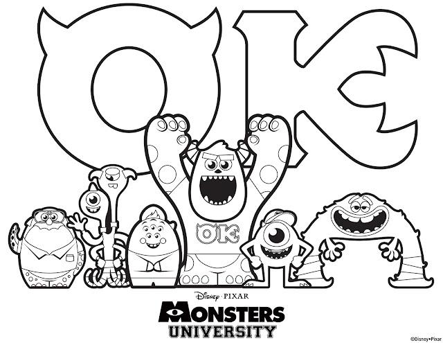Polkadots on Parade: Monsters University!