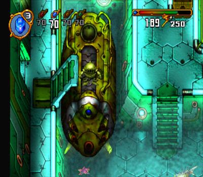 Elemental Gimmick Gear - Submarino