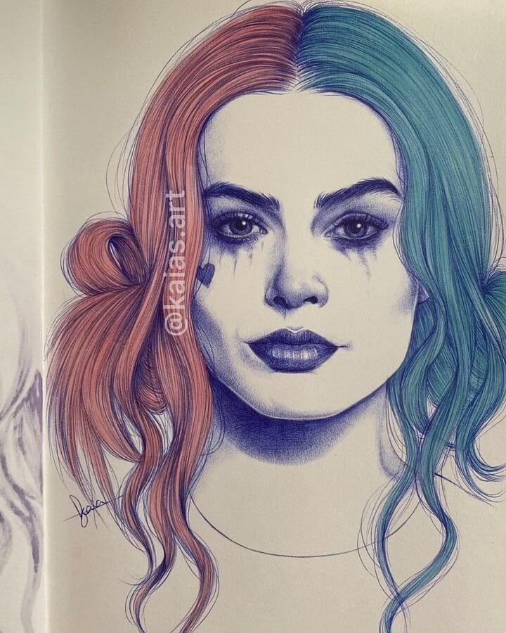 12-Kaia-Ballpoint-Pen-Color-Portraits-www-designstack-co