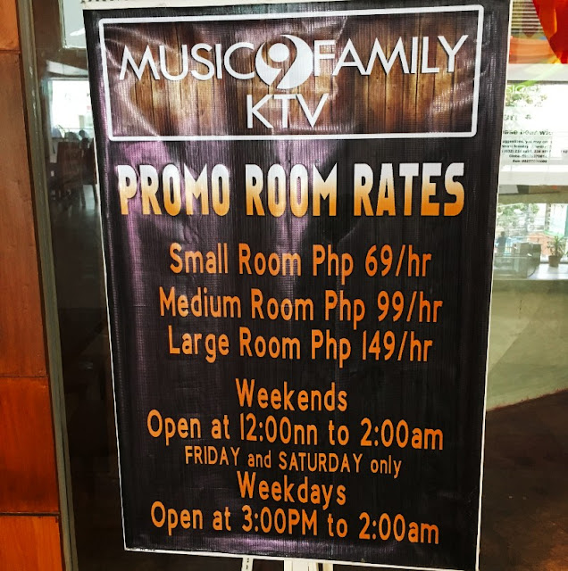 Music 9 Family KTV Rates and Operating Hours Talamban Times Square