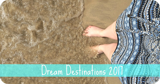 dream travel destinations 2017