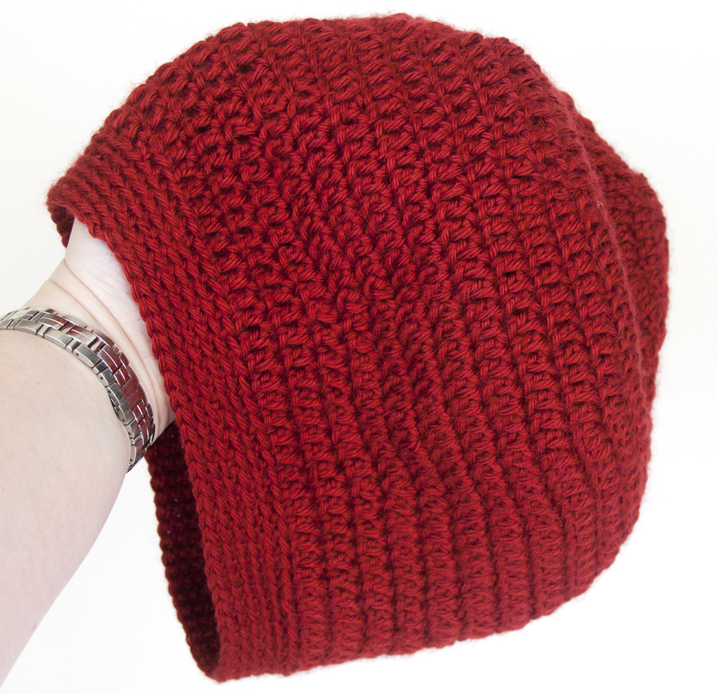 d6977d6a6b3e2 Show and Tell Meg  Christmas FO  Slouchy Beanie