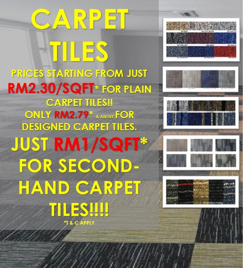 Kedai Karpet Murah Cheap Office Carpet Shop Malaysia Carpet Tiles