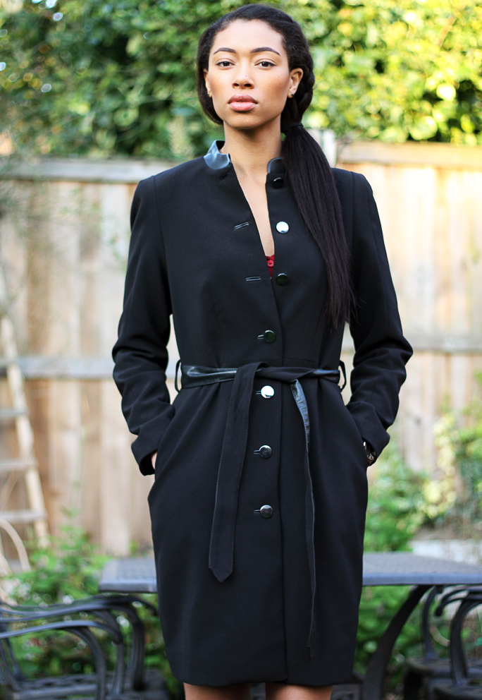 Outfit Snippets | H&M Black Coat