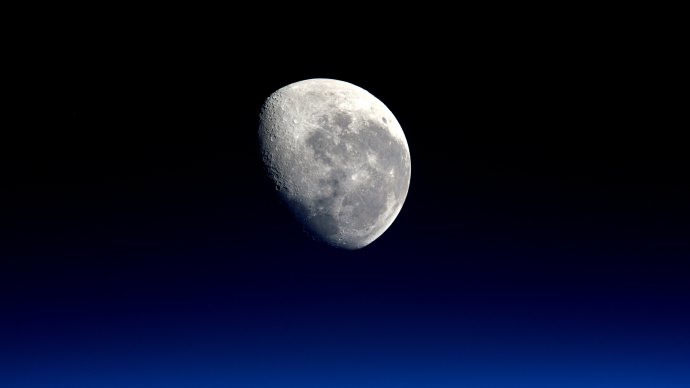 Wallpaper: Our Natural Satellite The Moon