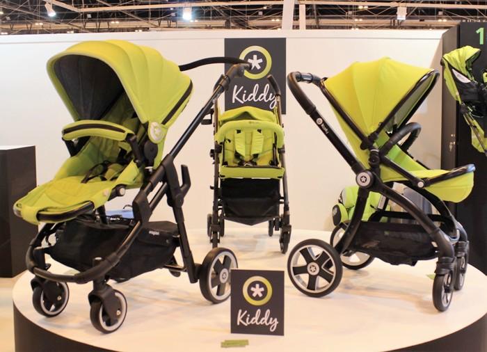 evostar, evoglide y evocity, los nuevos carritos para bebé de kiddy
