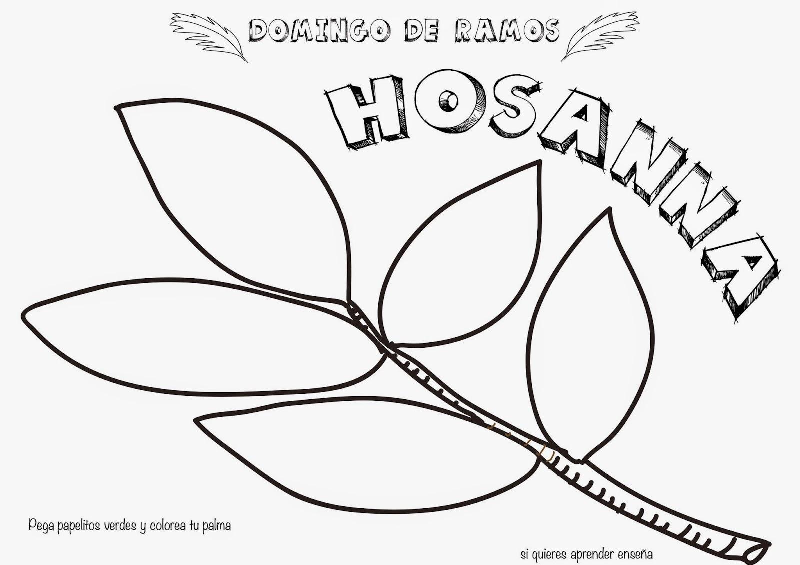 Magnífico Colorear Domingo De La Palma Elaboración - Ideas Para ...