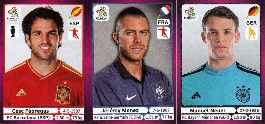 Adrenalyn Xl Euro 2012 Poland Ukraine Trading Cards 10 Packets