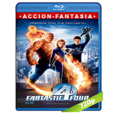 Los 4 Fantasticos (2005) BRRip 720p Audio Trial Latino-Castellano-Ingles 5.1