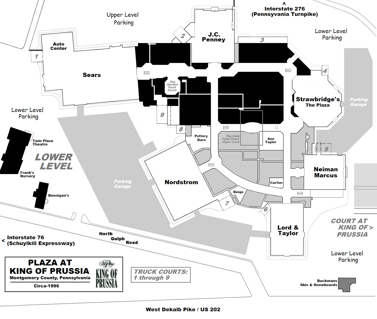 MALL HALL OF FAME: April 2007 King Of Prussia Mall Store Map on orange park mall store map, tucson mall store map, indian river mall store map, solomon pond mall store map, exton mall store map, west oaks mall store map, mall of america water park map, freehold raceway mall store map, towson town center store map, franklin park mall store map, short pump town center store map, the grove store map, miller hill mall store map, eagan outlet mall store map, scottsdale fashion square store map, mall of new hampshire store map, white marsh mall store map, plymouth meeting mall store map, meridian mall store map,