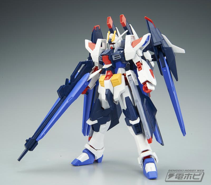 HGBF 1/144 Amazing Strike Freedom Gundam Sample Images by Dengeki Hobby