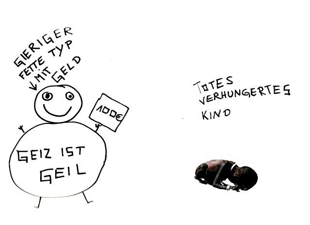 Dr. Kristian Stuhl 2012,  Gieriger fetter Typ, Das Klo spült alles fort, A4