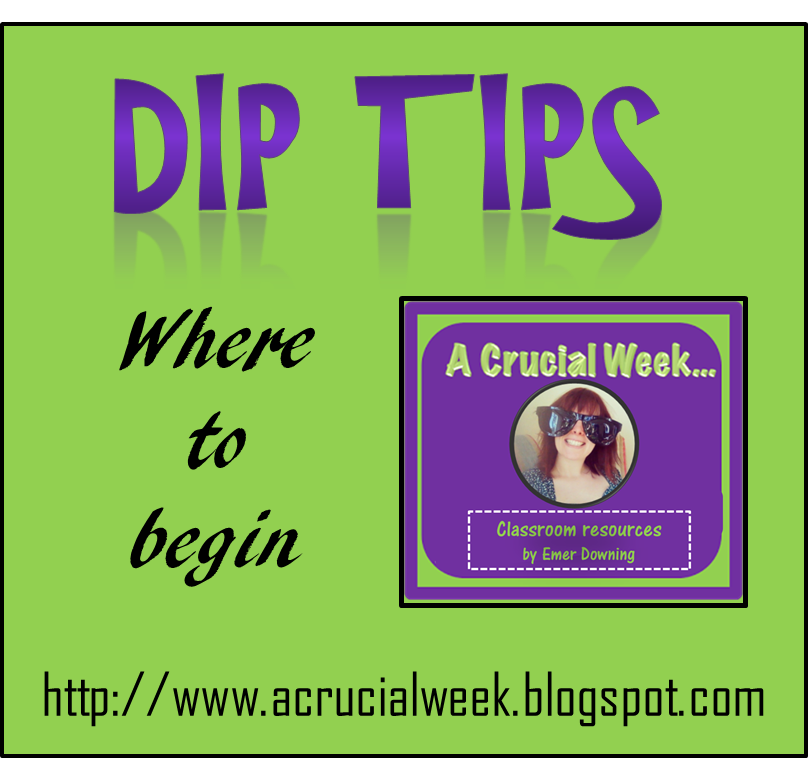 A Crucial Week: Dip Tips (Updated July 2019)