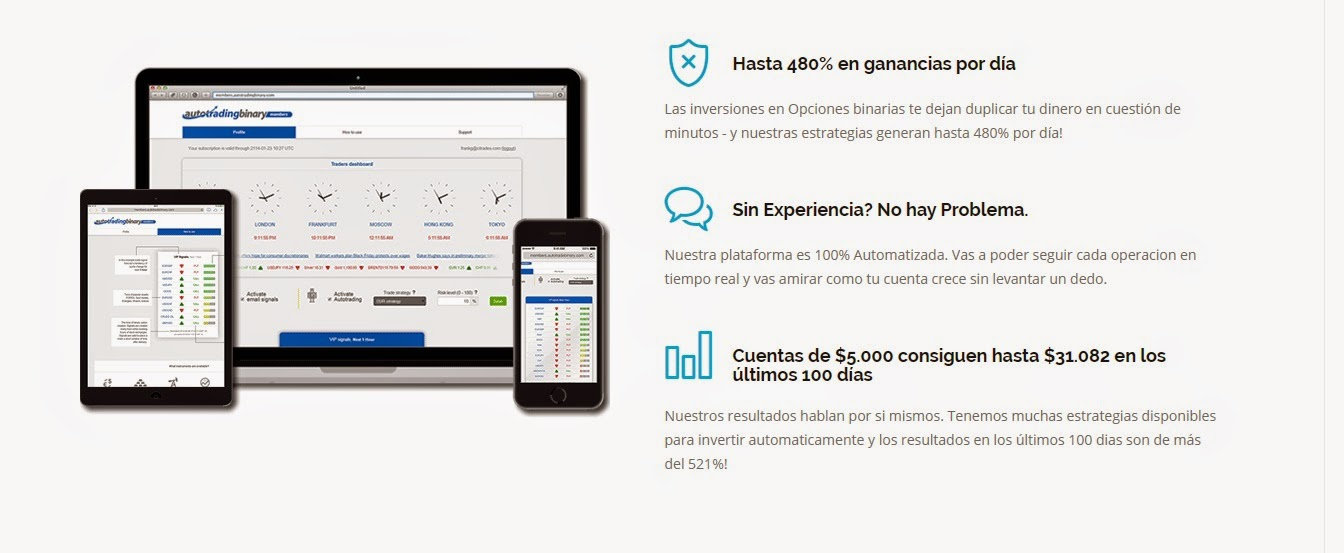 Invertir en opciones binarias desde colombia
