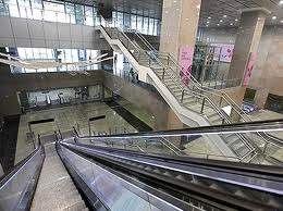 Delhi Metro Station - Stairs & Escalators