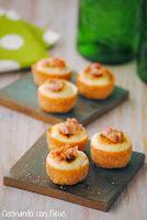 Tartaletas rellenas de coliflor con all i oli caramelizado y crujiente de beicon -cocinando-con-neus