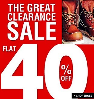 The Great Clearance Sale on Shoes: Flat 40%+ Extra 30% Discount on Big Brand Shoes at Jabong