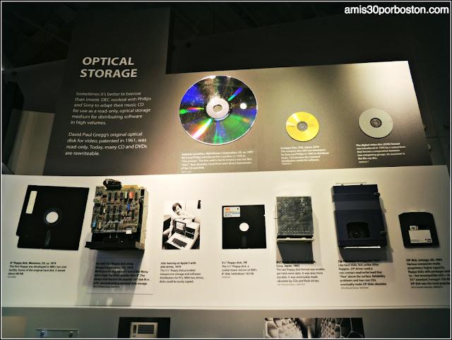 Computer History Museum: Optical Storage