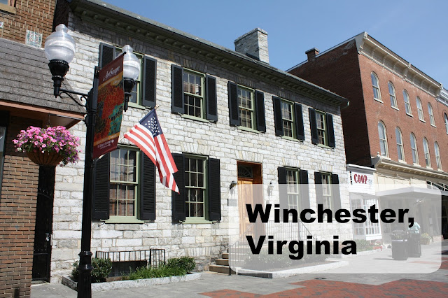 Visit to Winchester, Virginia