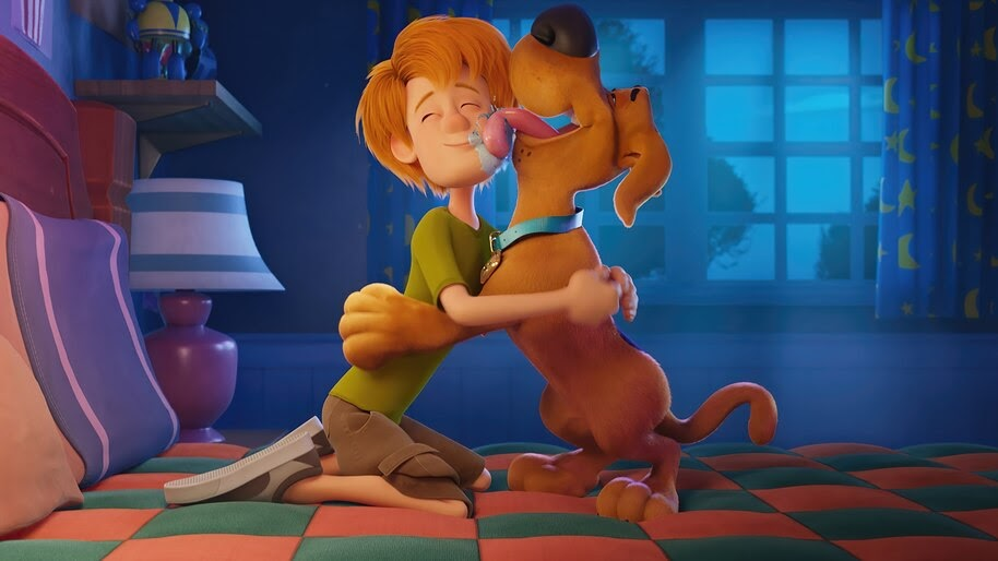Young, Scooby Doo and Shaggy, Scoob, Movie, 4K, #3.2044