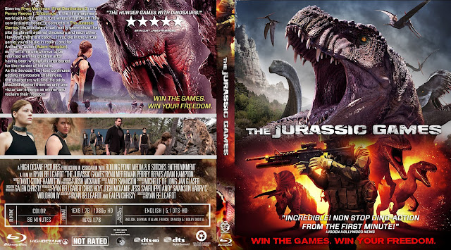 The Jurassic Games Bluray Cover