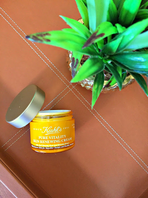 Fitness And Chicness-Kiehl's Pure Vitality Skin Renewing Cream-2
