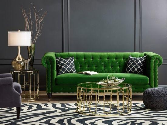 green color scheme