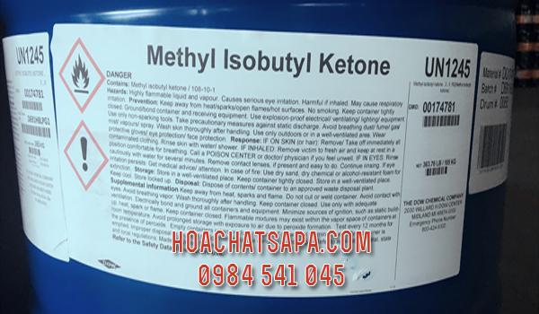 Dung môi Methyl Isobutyl Ketone - MIBK