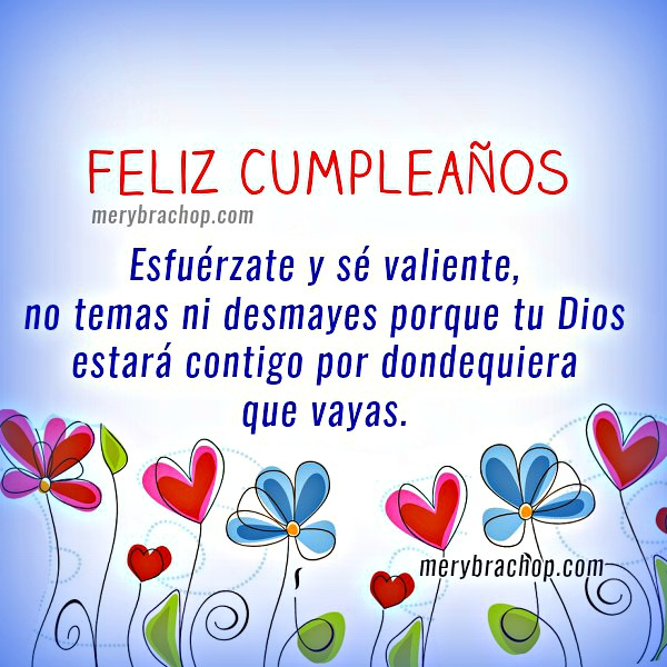 Imágenes cristianas con saludos de cumpleaños cortos y bonitos para amigos del facebook, hijo, hija, hermana por Mery Bracho