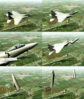 Jet Tempur F-15C Patah Jadi Dua