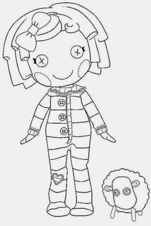 lalaloopsy coloring pages nick jr - photo#13