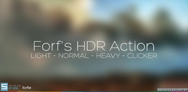 الاكشن الاكثر من رائع Forf's HDR Action