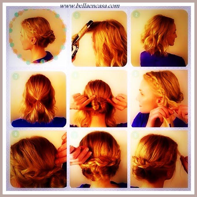 Peinados Faciles Paso A Paso Pelo Corto Free Ideas Para Hacerte