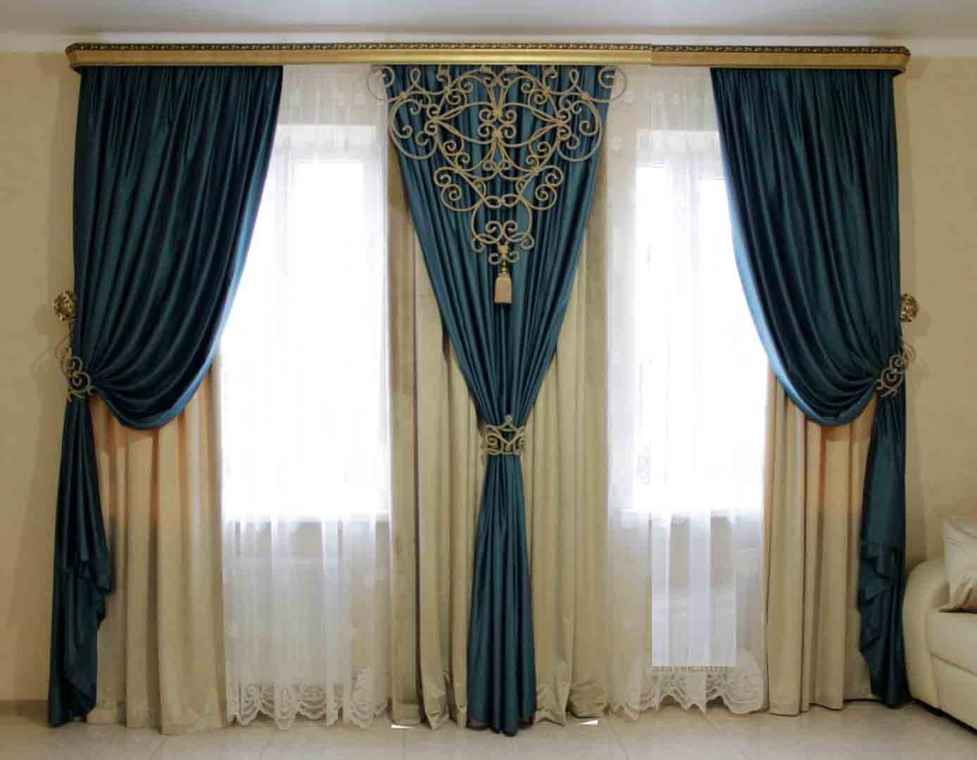 Modern Curtains Design For Living Room - interior design ideas