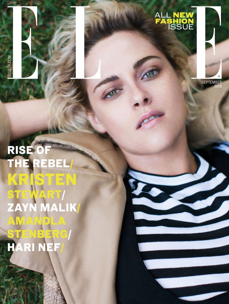 Kristen Stewart talks about new girlfriend with Elle UK September 2016