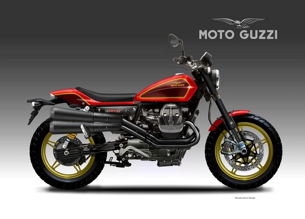 racing caf design corner moto guzzi v9 trax by oberdan bezzi. Black Bedroom Furniture Sets. Home Design Ideas