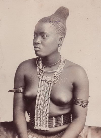 African Zulu hair style